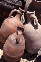 Spanien, Andalusien,Verkauf von Keramik in den Alpujarras (Alpujarra granadina)