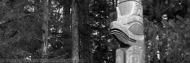 Sitka National Historic Park preserves and interprets the site of a Tlingit Indian Fort and the battle fought between the Russians and the Tlingits in 1804. Contains collection of Haida & Tlingit totem poles.