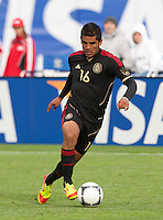 San Francisco, California - Saturday March 17, 2012: Miguel Ponce in action during the Mexico vs Senegal U23 in final Olympic qualifying tuneup. Mexico defeated Senegal 2-1