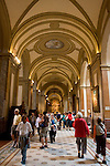 Buenos Aires, Argentina - Tourists walk the halls of the Cathedral in Downtown Buenos Aires