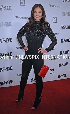 "LYNDA CARTER.attends the official launch of the video game ""Rage"" in Chinatown, Los Angeles_30/09/2011.Mandatory Photo Credit: ©Crosby/Newspix International. .**ALL FEES PAYABLE TO: ""NEWSPIX INTERNATIONAL""**..PHOTO CREDIT MANDATORY!!: NEWSPIX INTERNATIONAL(Failure to credit will incur a surcharge of 100% of reproduction fees).IMMEDIATE CONFIRMATION OF USAGE REQUIRED:.Newspix International, 31 Chinnery Hill, Bishop's Stortford, ENGLAND CM23 3PS.Tel:+441279 324672  ; Fax: +441279656877.Mobile:  0777568 1153.e-mail: info@newspixinternational.co.uk"