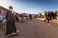 Africa, Marocco,berber man in the market