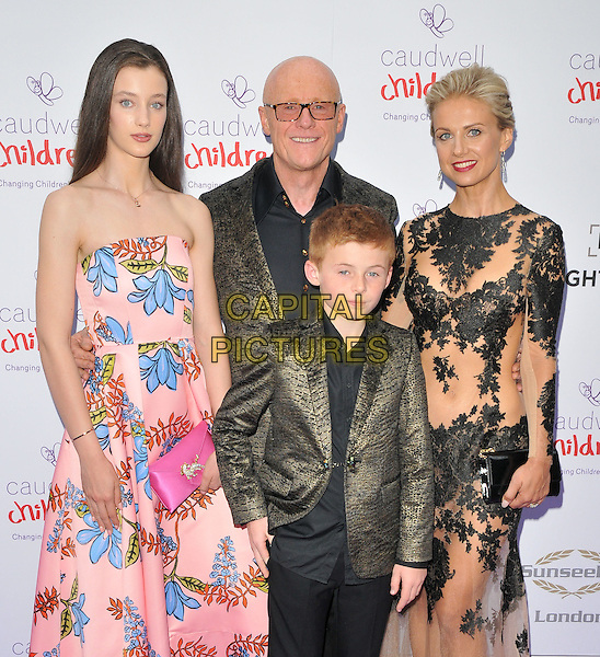 John Caudwell with his son Jacobi &amp; guests at the Caudwell Children Butterfly Ball, Grosvenor House Hotel, Park Lane, London, England, UK, on Wednesday 22 June 2016.<br /> CAP/CAN<br /> &copy;CAN/Capital Pictures