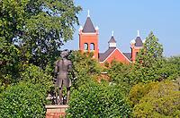 Lafayette statue in Cross Creek Park in Fayetteville North Carolina