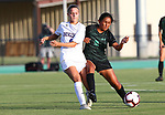 DENTON, TX - AUGUST 22:  Mean Green Soccer v Northwestern State at Soccer Track & Field Complex in Denton on August 22, 2019 in Denton, Texas. (Photo by Rick Yeatts)