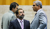 SAO PAULO, SP, 05 DE FEVEREIRO 2013 - ABERTURA ANO LEGISLATIVO - Vereador Marco Aurelio Cunha ( c) durante abertura da sessão de Abertura do Ano Legislativo da Câmara Municipal de São Paulo (SP), nesta terça-feira (5). FOTO: VANESSA CARVALHO - BRAZIL PHOTO PRESS