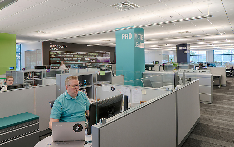 The Ohio Society of CPA's Corporate Office and Training Center   DesignGroup