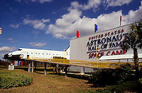 The U.S. Astronaut Hall of Fame and Space Camp on Merritt Island, Cape Canaveral, Florida