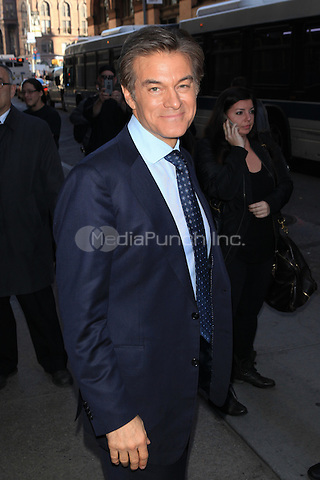 NEW YORK, NY - NOVEMBER 16: Dr. Oz seen in New York City on November 16, 2015.<br /> Credit: DC/MediaPunch