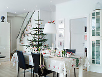 The kitchen/diner is the heart of this house, especially at Christmas time when the family gather to celebrate