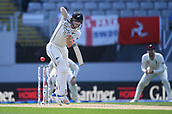 25th March 2018, Auckland, New Zealand;  BJ Watling at bat<br /> New Zealand versus England. 1st day-night test match. Eden Park, Auckland, New Zealand. Day 4
