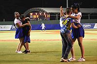 MONTERIA - COLOMBIA, 13-11-2019: Vaqueros de Montería y Toros de Sincelejo en el juego 1 de la serie 1 de la Liga Profesional de Béisbol Colombiano temporada 2019-2020 jugado en el estadio estadio Dieciocho de Junio de la ciudad de Montería. Victoria para Toros por marcador de 13-6. / Vaqueros de Monteria and Toros de Sincelejo in match 1 series 1 as part Colombian Baseball Professional League season 2019-2020 played at Baseball Stadium on June 18 in Monteria city. Victory to Toros by score of 13-6, Photo: VizzorImage / Andres Felipe Lopez / Cont