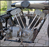 BNPS.co.uk (01202)558833Pic: H&amp;H/BNPS<br /> <br /> The JAP engine made the SS100 the fastest machines on the road.<br /> <br /> A vintage motorbike that has a tragic past and is in a jumble of parts has sold for a world record price of &pound;425,000.<br /> <br /> The 1930 Brough SS100 was ridden in a fateful race by the British biker FP 'Gentleman' Dickson alongside teammate George Brough, the engineer behind the famous machine. <br /> <br /> Dickson died after crashing the bike at a race in Switzerland in August 1930.<br /> <br /> The SS100 was later owned by motorbike enthusiast for almost 50 years. He had intended to restore the machine but died before he could complete project.