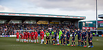 08.03.2020: Ross County v Rangers: No handshakes after team line ups