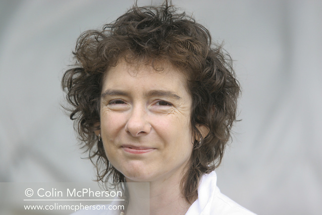 Celebrated British author Jeanette Winterson pictured at the Edinburgh International Book Festival where she talked about her lastest novel Weight, a retelling of the myth of Atlas.  The Book Festival was the World's largest literary event and featured writers from around the world. The 2006 event featured around 550 writers and ran from 13-28 August.