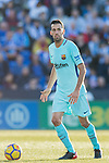 Sergio Busquets Burgos of FC Barcelona in action during the La Liga 2017-18 match between CD Leganes vs FC Barcelona at Estadio Municipal Butarque on November 18 2017 in Leganes, Spain. Photo by Diego Gonzalez / Power Sport Images