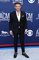 07 April 2019 - Las Vegas, NV - Michael Ray. 54th Annual ACM Awards Arrivals at MGM Grand Garden Arena. Photo Credit: MJT/AdMedia<br /> CAP/ADM/MJT<br /> &copy; MJT/ADM/Capital Pictures