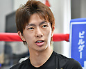 Boxing: Ryoichi Taguchi of Japan during media workout