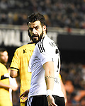 Valencia's  Alvaro Negredo  during Spain King Cup match. December 16, 2015. (ALTERPHOTOS/Javier Comos)