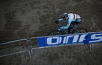 Michael Vanthourenhout (BEL/Marlux Bingoal) chasing. <br /> <br /> Men Elite Race<br /> UCI CX Worlds 2018<br /> Valkenburg - The Netherlands
