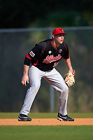 Illinois State Redbirds first baseman Brian Rodemoyer (30) during a game against the Indiana Hoosiers on March 4, 2016 at North Charlotte Regional Park in Port Charlotte, Florida.  Indiana defeated Illinois State 14-1.  (Mike Janes/Four Seam Images)
