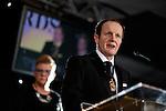 © Joel Goodman - 07973 332324 . 02/03/2017 . Manchester , UK . JON HAINEY , President of Manchester Law Society . The Manchester Legal Awards at the Midland Hotel . Photo credit : Joel Goodman