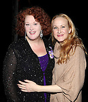 Liz McCartney & Katie Finneran attending the Broadway Opening Night Performance  Gypsy Robe Ceremony celebrating Merwin Foard recipient  for 'Annie' at the Palace Theatre in New York City on 11/08/2012
