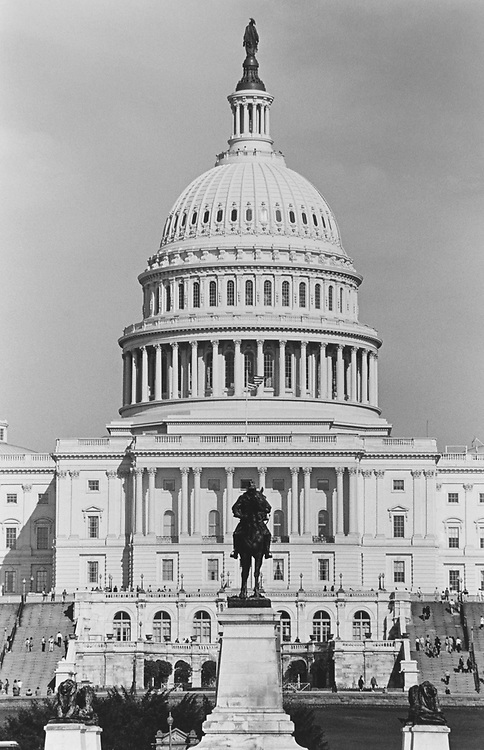 United States Capitol Hill West Front in May 1997. (Photo by Maureen Keating/CQ Roll Call via Getty Images)