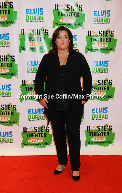 "All My Children's Rosie O'Donnell ""Naomi - The Maid"" hosted Rosie's Building Dreams for Kids Gala benefitting Rosie's Theater Kids on September 19, 2011 at New York Marriott Marquis, New York City, New York. (Photo by Sue Coflin/Max Photos)"