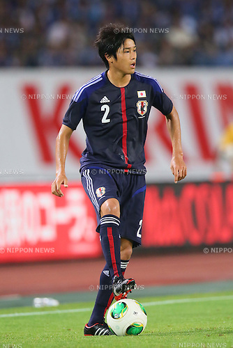 Atsuto Uchida (JPN), <br /> AUGUST 14, 2013 - Football / Soccer : <br /> KIRIN Challenge Cup 2013 match <br /> between Japan 2-4 Uruguay <br /> at Miyagi Stadium, Miyagi, Japan.<br />  (Photo by AFLO SPORT)