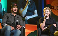 08 June 2018 - Nashville, Tennessee - Luke Bryan, Maddie Poppe. 2018 CMA Music Fest Xfinity Fan Fair X held at Music City Center. <br /> CAP/ADM/LF<br /> &copy;LF/ADM/Capital Pictures