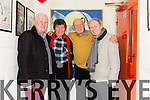 The Guys are Back Ronan Collins, DJ Curtin, Paddy Cole and Tommy Swarbrigg meet up before the Show in Simasa Tire on Sunday