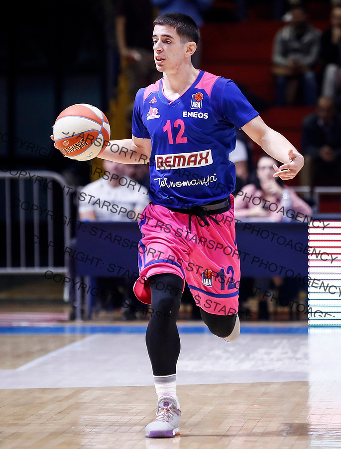 Kosarka ABA League season 2017-2018<br /> Crvena Zvezda v Mega Bemax<br /> Mihailo Jovicic<br /> Beograd, 04.09.2017<br /> foto: Srdjan Stevanovic/Starsportphoto &copy;