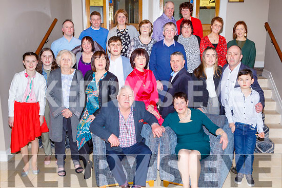 Patrick McGillicuddy, Ballydribeen, Killarney celebrated his 70th birthday with his family and friends in the Parkavon Hotel Killarney on Saturday night