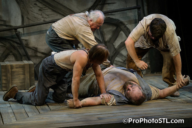 The Hairy Ape by Eugene O'Neill presented by Upstream Theater at Kranzberg Center in St. Louis, MO on Oct 4, 2012.