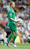 Manchester City's Joe Hart during Champions League match. September 18, 2012. (ALTERPHOTOS/Alvaro Hernandez). /NortePhoto.com<br /> <br /> **CREDITO*OBLIGATORIO** *No*Venta*A*Terceros*<br /> *No*Sale*So*third* ***No*Se*Permite*Hacer Archivo***No*Sale*So*third<br /> <br /> <br /> **CREDITO*OBLIGATORIO** *No*Venta*A*Terceros*<br /> *No*Sale*So*third* ***No*Se*Permite*Hacer Archivo***No*Sale*So*third