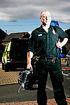 Pix: Shaun Flannery/shaunflanneryphotography.com...COPYRIGHT PICTURE>>SHAUN FLANNERY>01302-570814>>07778315553>>..23rd July 2012..Yorkshire Ambulance Service NHS Trust (YAS) - Paramedic