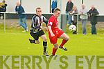 6879-6883.Dynamos Maurice O'Rahilly and St Mary's John Paul O'Sullivan.