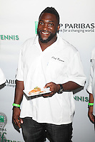 Chef Marc Anthony Bynum attends the 13th Annual 'BNP Paribas Taste of Tennis' at the W New York.  New York City, August 23, 2012. © Diego Corredor/MediaPunch Inc. /NortePhoto.com<br />