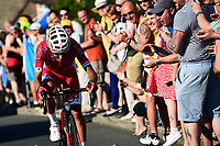 Picture by SWpix.com - 06/05/2018 - Cycling - 2018 Tour de Yorkshire - Stage 4: Halifax to Leeds - Stephane Rossetto of Team COFIDIS