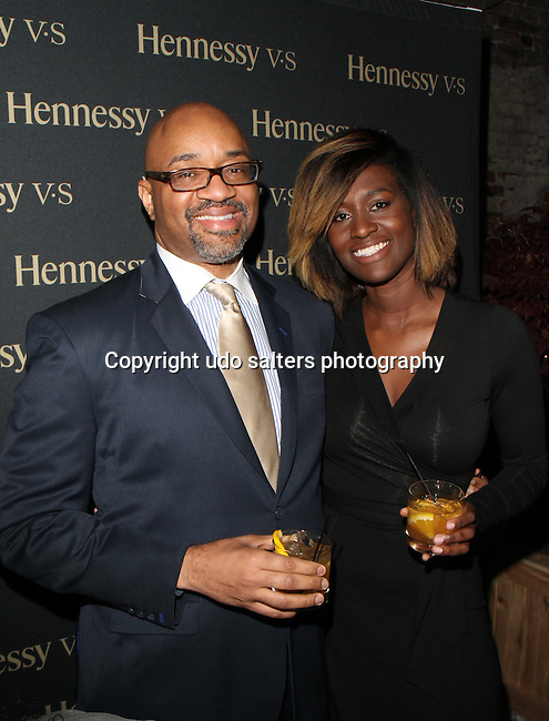 "CELEBRITY STYLIST, RACHEL JOHNSON, FELLOW BARBER AND HENNESSY HOST  ""THE WELL-GROOMED EXPERIENCE"""