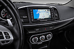 Navigation screen view of a 2012 Mitsubishi Lancer GT Touring