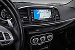 Navigation screen view of a 2012 Mitsubishi Lancer GT Touring
