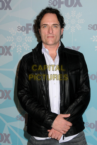 KIM COATES .attending the Fox All Star Party held at Villa Sorriso in Pasadena, California, USA, January 11th 2011..half length leather jacket  black .CAP/ADM/BP.©Byron Purvis/AdMedia/Capital Pictures.