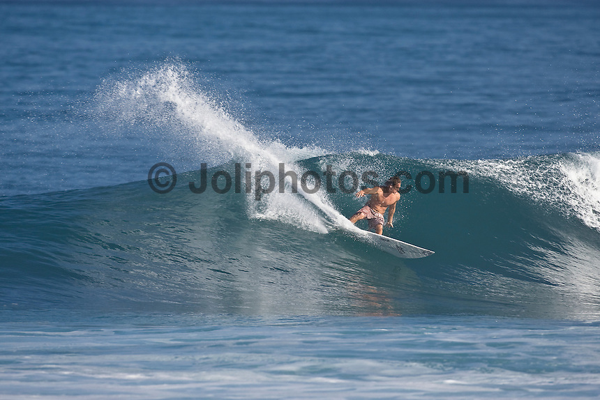 CHRIS WARD (USA) Off The Wall-Backdoor, North Shore of Oahu, Hawaii. Photo: joliphotos.com