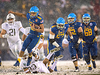 Photography of the playing of the very snowy 118th Army-Navy football game at Lincoln Financial Field in Philadelphia, PA.  The Army Black Knights defeated the Navy Midshipmen 14-13.<br /> <br /> Photography by: PatrickSchneiderPhoto.com