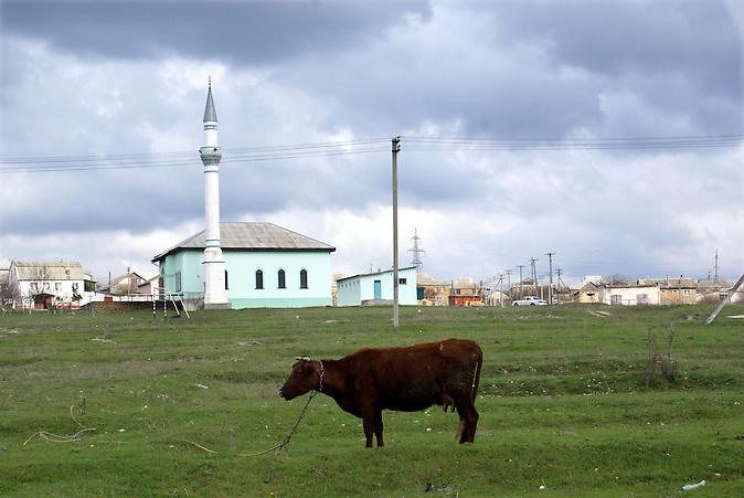 Eine Moschee auf der Krim