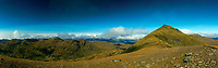 The Munros of Stob Binnein and Cruach Ardrain from Stob Coire an Lochain, Loch Lomond and the Trossachs National Park