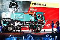 4th January 2020, Jeddah, Saudi Arabia;  531 Becx Michiel, Bernard nld, Kuijpers Edwin, Iveco, Petronas Team de Rooy Iveco Truck during the departure ceremony of the 2020 Dakar in Jeddah, Saudi Arabia on January 4th 2020