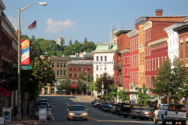Main Street in Bangor, Maine
